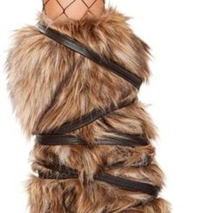 Accessories - Fur Leg Warmers
